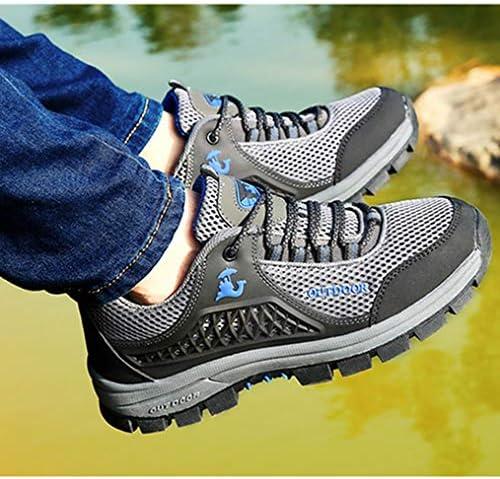 ハイキングシューズ トレッキングブーツローカット つま先保護 メンズ 登山靴 アウトドアシューズ 防滑 レースアップ 通気性 防水 大きいサイズ 幅広 レトロスニーカー ローカットウォーキングシューズ