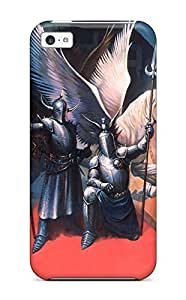 HICbRgT14853jDRqT Tpu Phone Case With Fashionable Look For Iphone 5c - Knight