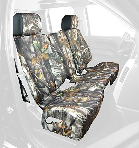 Saddleman Front Custom Fit Seat Cover for Select Ford F-150 Models - Neoprene Fabric (Camo) (S 199714-30)