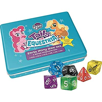 River Horse Studios Earth Pony Dice Set: Toys & Games
