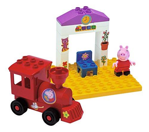 Smoby - 7/800057072 - Gare ferrovière pour le train de Peppa Pig - 15 Pièces