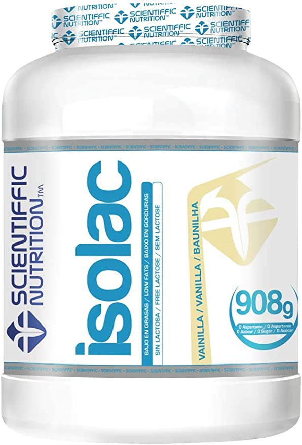 Isolac Whey Protein 908g Vainilla Isolac®