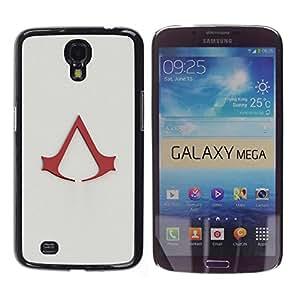 // PHONE CASE GIFT // Duro Estuche protector PC Cáscara Plástico Carcasa Funda Hard Protective Case for Samsung Galaxy Mega 6.3 / Asesinos A /