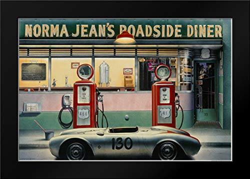 - Destiny Highway Pg Framed Art Print by Consani, Chris