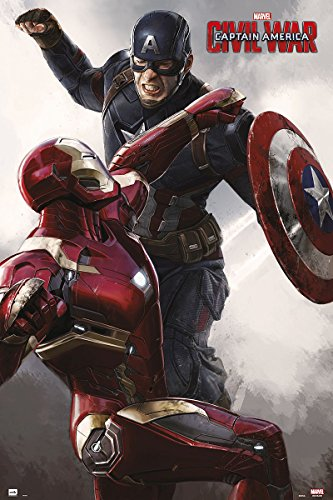Iron Man Marvel Captain America - Civil War Poster Captain A