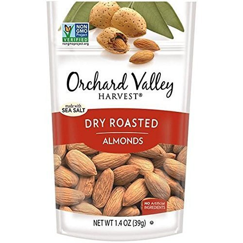 Orchard Valley Dry Roasted Whole Almonds - Sea Salt - 2 oz (Whole Roasted Almonds)