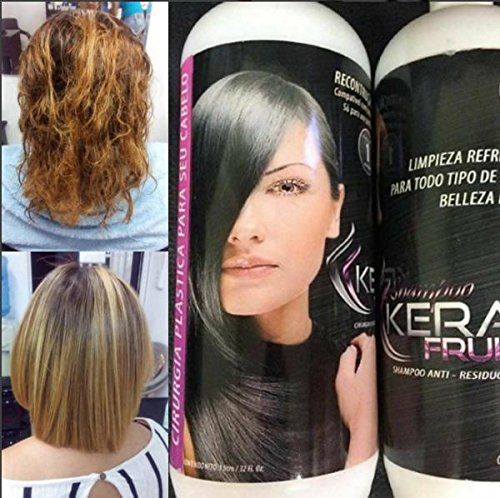 Amazon.com : Brazilian keratin treatment KERA FRUIT 1 litro OBSEQUIO 2 AMPOLLAS : Everything Else