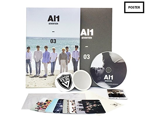 SEVENTEEN 4th Mini Album AL1 [ AL1 (3) ] CD + Folded Poster + Photo book + Photo Card + FREE GIFT SET (Mini Individual Album)