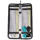 xhorizon SR Business Travel Essentials Necktie Box Tie Case Travel Organizer Portable Nylon Storage Bag