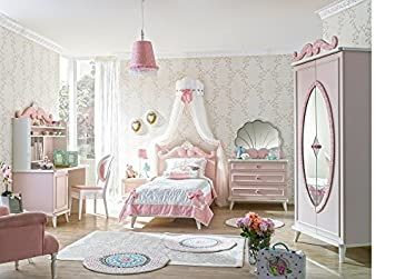 Madchenzimmer Rosa Lina Bett Kinderzimmer Kommode Muschel Form S