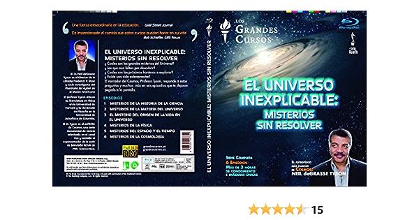 El Universo Inexplicable Misterios Sin Resolver Bd Cine Y Tv