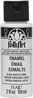 product image for FolkArt Enamels Frost, 2oz Medium, 2 oz, 2 Fl Oz