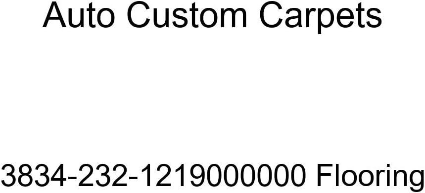 Auto Custom Carpets 3834-232-1219000000 Flooring