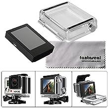 Fantaseal® LCD BacPac External Monitor Display Viewer for Gopro Hero 3+/4 w/ Gopro Back Cover Protective Case Gopro Waterproof Housing Backdoor for Gopro Hero 3+ /Hero 4