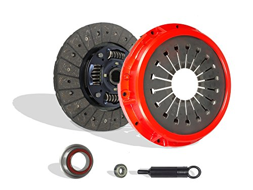 M 3 Clutch Kit - Clutch Kit Works With Toyota Supra Turbo Hatchback 2-Door 1987-1992 3.0L l6 GAS DOHC Turbocharged (Stage 1; Vin M 7Mgte)