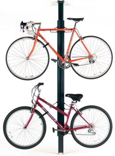 gearup BUA Aluminum Floor to Ceiling Storage Rack, (Floor To Ceiling Bike Rack)