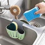 Samy Best 2 Sided Kitchen Sink Hanging Strainer Storage Holder Bag Sponge Towel Draining Rack Cleaning Brush Toothbrush Holder