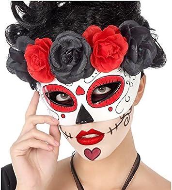Casa del Disfraz Antifaz Halloween: Amazon.es: Juguetes y juegos