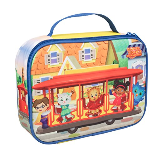 Daniel Tiger's Neighborhood - Insulated Durable Lunch Bag Tote, Reusable Lunch Box with Handle -