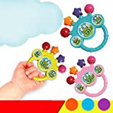Baby Bell Toy, Iusun Kids Cartoon Hand On Toy Early Educational Toy Gifts (Random)
