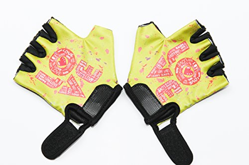 Monkey Bars Gloves (For Girls 5 and 6 Years Old) With Grip Contol