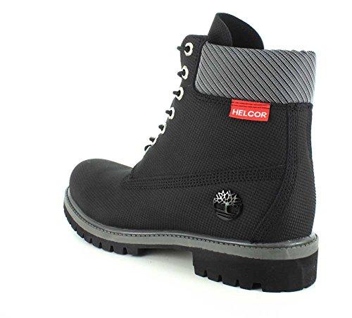 Helcor EU M Leather Timberland Herren Stiefel 43 Black D schwarz Relief 5 TcwzXZ4R1w