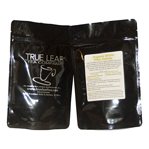 True Leaf Tea Organic White Pina Colada Tea