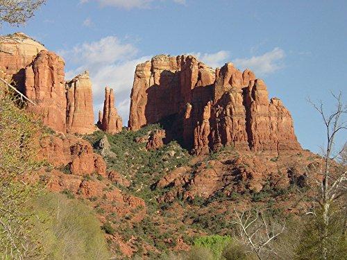 Home Comforts Laminated Poster Sedona Southwest Arizona Vacation Sedona Red Rocks Poster 24X16 Adhesive Decal