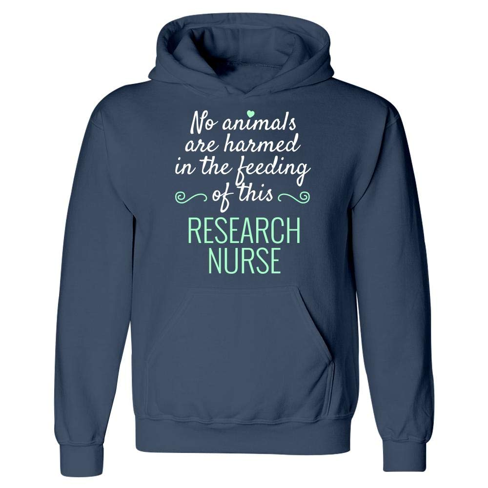 No Animals Harmed Feeding This Research Nurse Hoodie