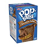 Kellogg's Pop Tarts Toaster Pastries, Frosted Chocolate Fudge 8 Pastries 400 Gram