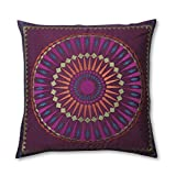 Sunvy Throw Pillow Covers Handmade Retro Ethnic Style Decorative Sofa Room Car Square Cotton Pillow Case