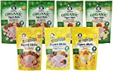 yogurt bites organic - Gerber Graduates Yogurt Melts, Variety, 1 Ounce (Pack of 7)