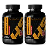 Memory and energy supplements - BRAIN AND MEMORY BOOSTER (Natural Formula) - St johns wort vitamins - 2 Bottles 120 Capsules
