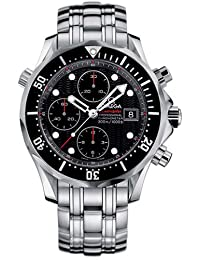 Omega Men's 213.30.42.40.01.001 Seamaster 300M Chrono Diver Black Dial Watch by Omega