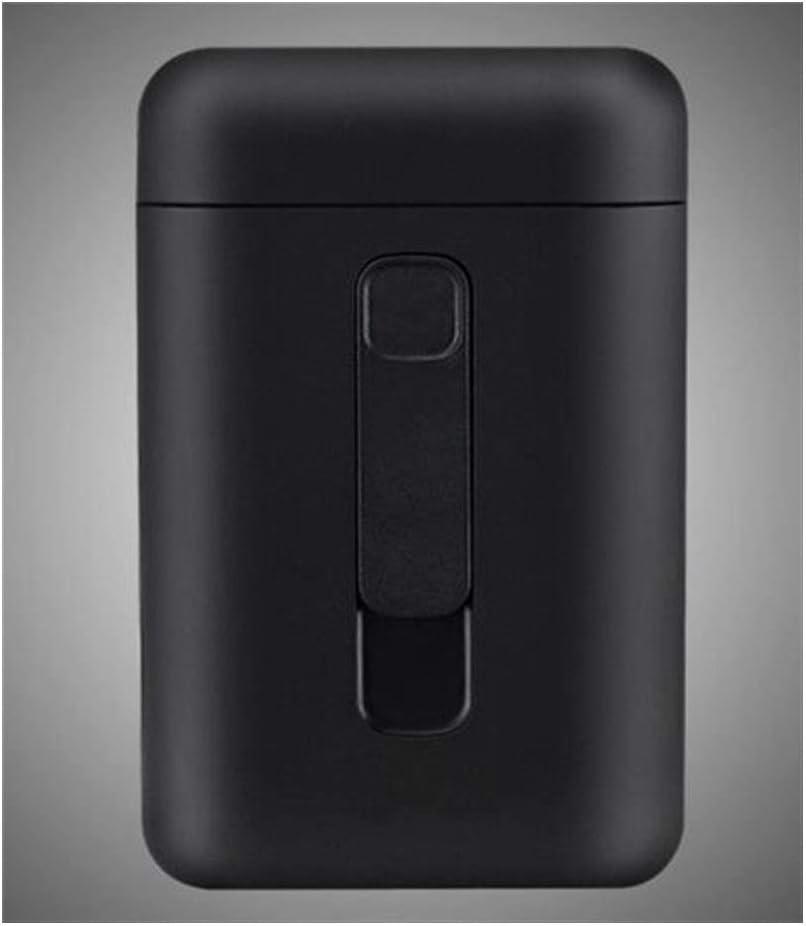 ,Ambiente Simple Adecuada para Encendedor de Cigarrillos Recargable con USB 20 Paquetes Blanco Caja de Cigarrillos autom/ática de Carga port/átil Qiaoxianpo01 Estuche de Cigarrillos