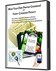 Family Cookbook Project Software - Create Personalized Recipe Book with Layout Options, Photos and Stories - Quick, Convenient and Easy to Use