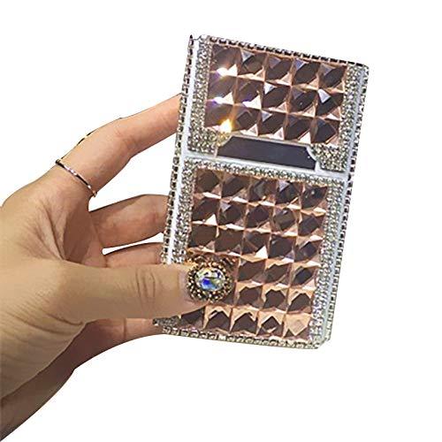 Ame Sigarette Usb G Portasigarette Magnetici Da i Sigarette Creativo Di Cm 10 Accendisigari Incrostato Con 20 3 Scatola Ricarica 6 Diamanti 2 Piena rrngBdZz