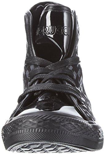 Fiorucci High für Schwarz Fdad019 Sneaker Damen Nero Top q7r1BqwSF