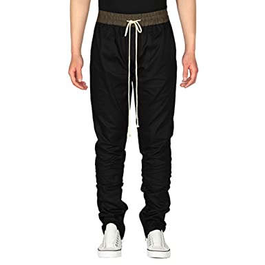 Pantalones Hombre,❤Dorame❤ Pantalón de Harem Chándal Casual de ...