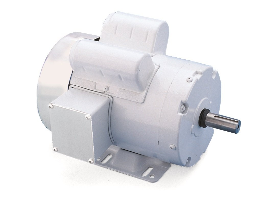 Leeson 112526.00 White Epoxy Painted Washguard Motor, 1 Phase, 56C Frame, Rigid Mounting, 1/3HP, 1800 RPM, 115/208-230V Voltage, 60Hz Fequency