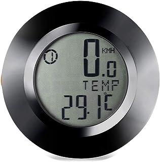 LYCOS3 Ordinateur de vélo sans Fil à réveil Automatique Odomètre et Compteur de Vitesse avec écran LCD rétroéclairé étanche pour VTT Spin Bike Intérieur Exercice Extérieur