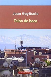 Telón de boca par Juan Goytisolo