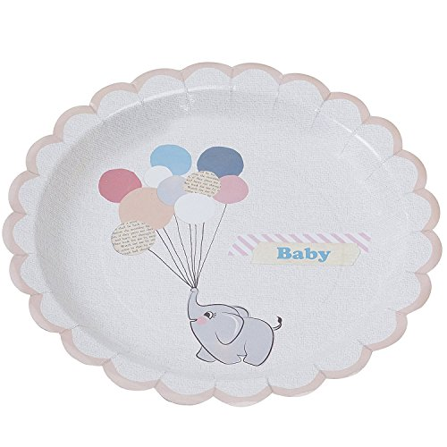 Baby Shower Ideas Baby Shower Decorations Paper Plates 9