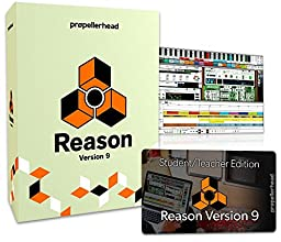 Propellerhead Reason 9 Digital Audio Workstation (Teacher/Student Version)