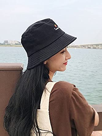 Yue Lian Damen Faltbarer Baumwolle Hut Sommer Sonnenh/üte Fischerhut