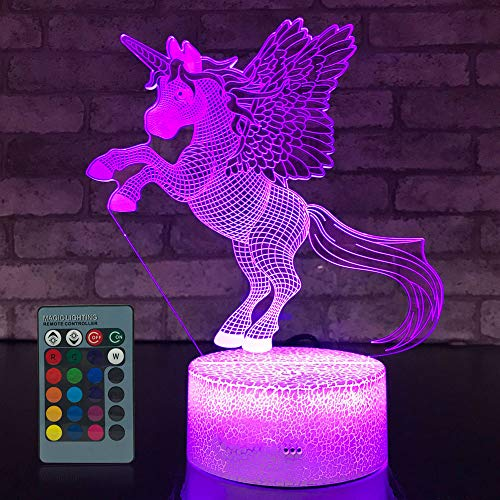 JMLLYCO Unicorn Night Light...