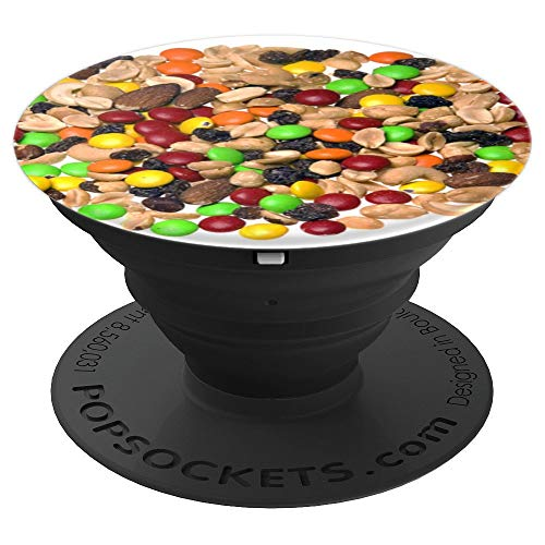 Trail Mix Almonds Peanuts Raisins Chocolate - PopSockets Grip and Stand for Phones and Tablets ()