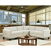 Carolina Accents Makenzie 4-Piece Sectional Sofa Set, Natural