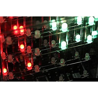 Hypnocube 4 Cube, Animated Light Sculpture: Toys & Games