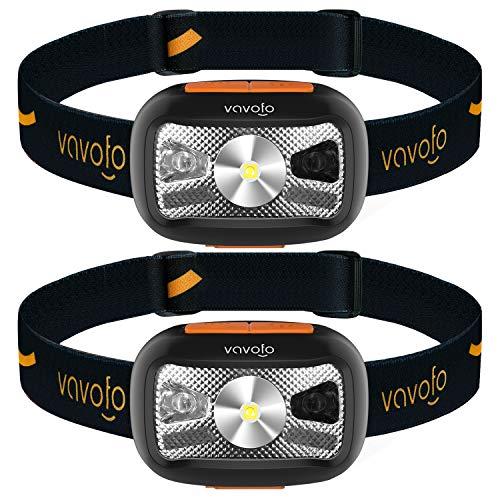 VAVOFO Rechargeable Headlamp 500